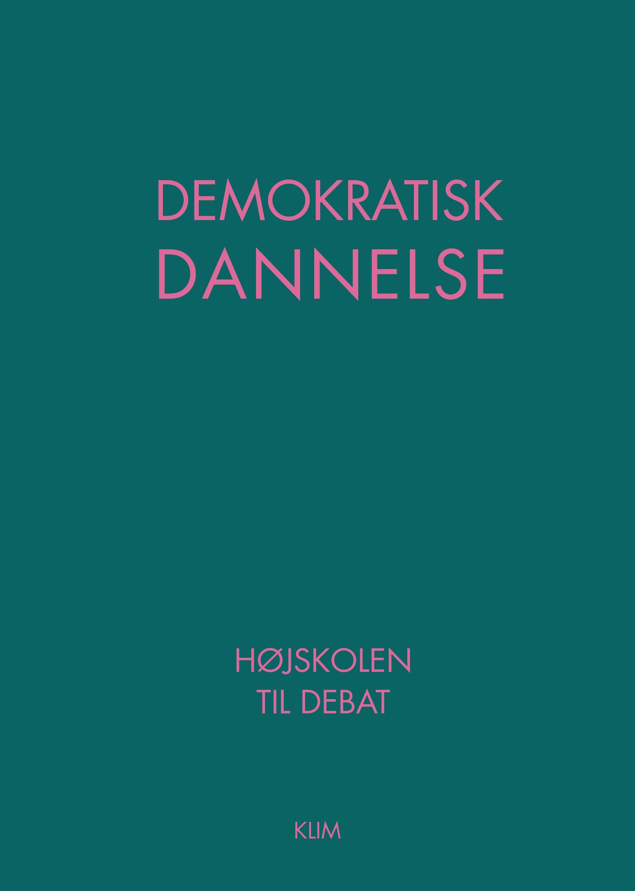 Forside til Demokratisk Dannelse - højskolen til debat